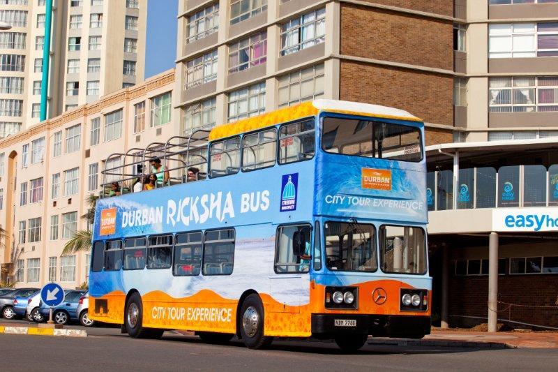 A17 Durban Ricksha Bus