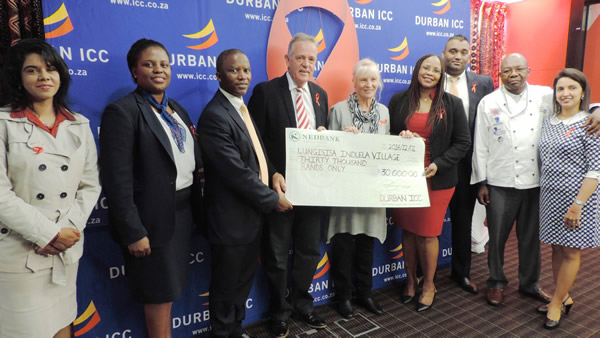DURBAN ICC COMMEMORATES WORLD AIDS DAY WITH LIV VILLAGE