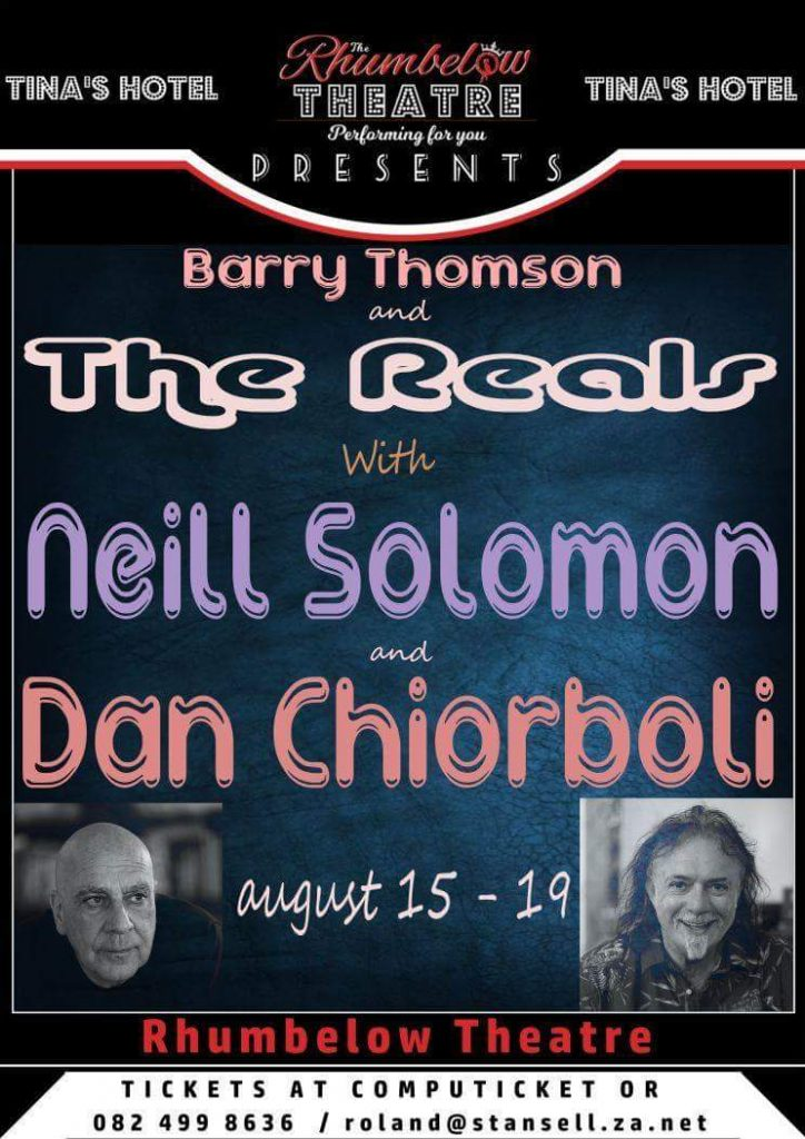 Neill Solomon & Dan Chiorboli with The Reals at Tinas performance