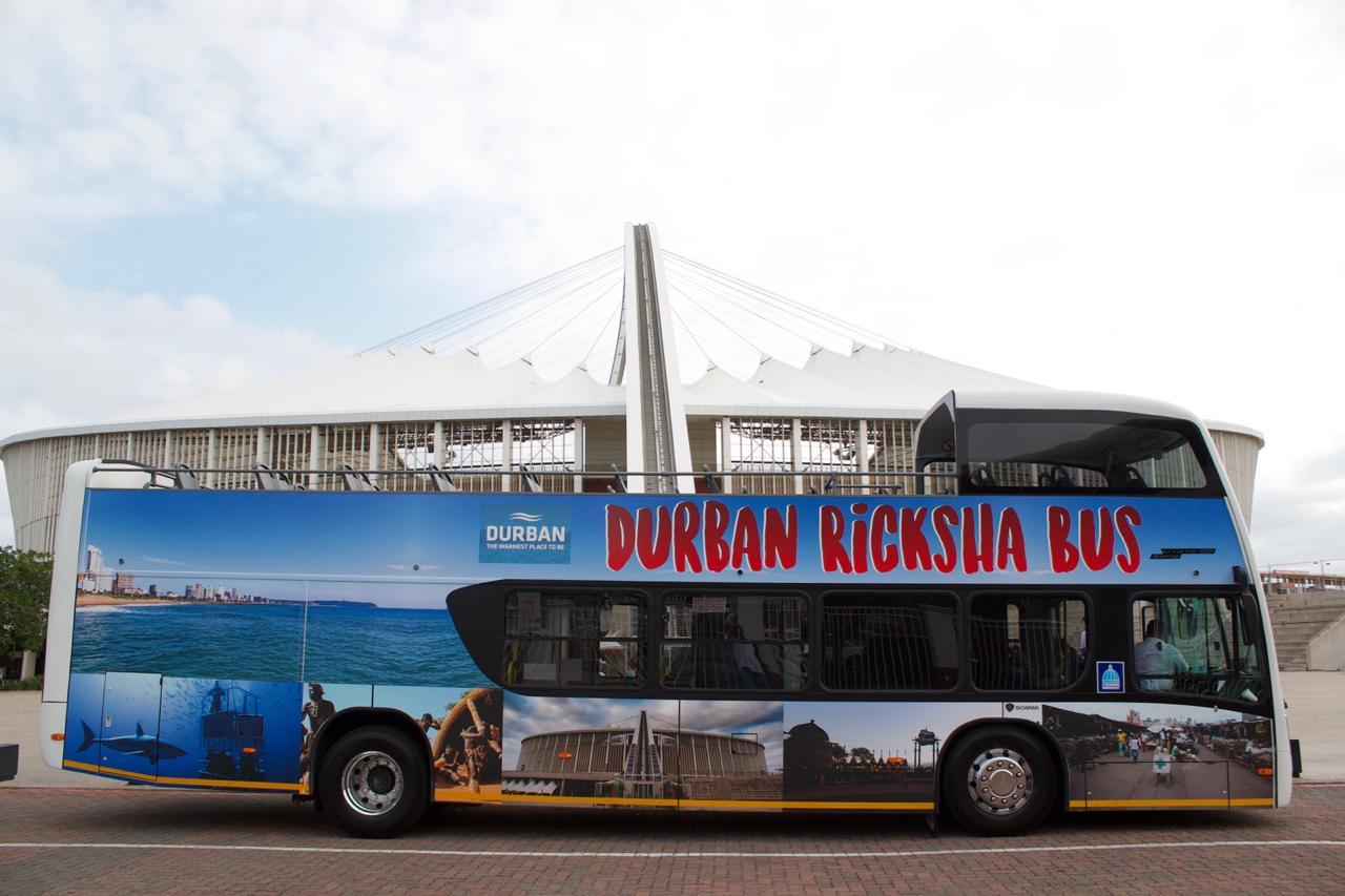 Durban Bus Tours with Ricksha