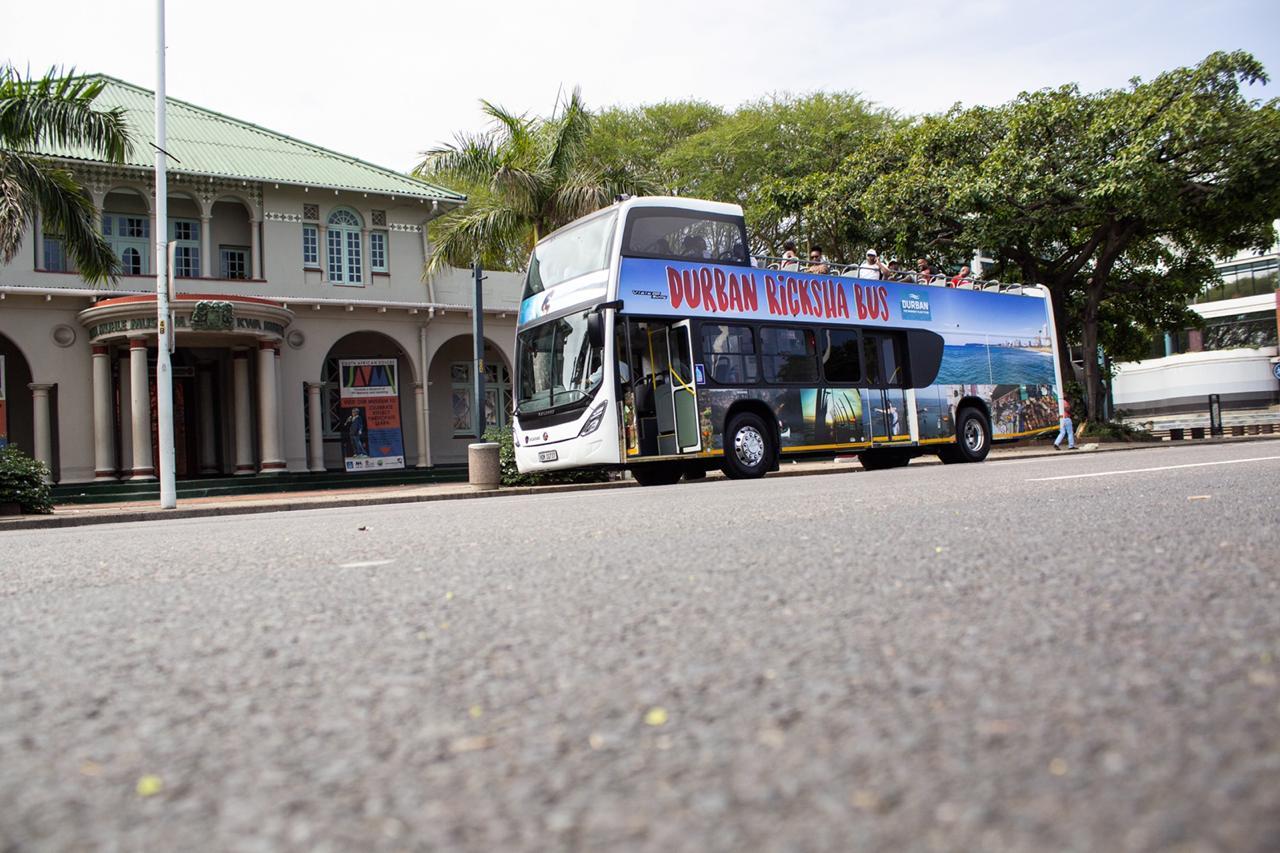 Durban RIcksha Bus Tour