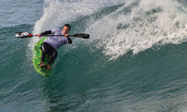 Wonderful Waves On A Waveski